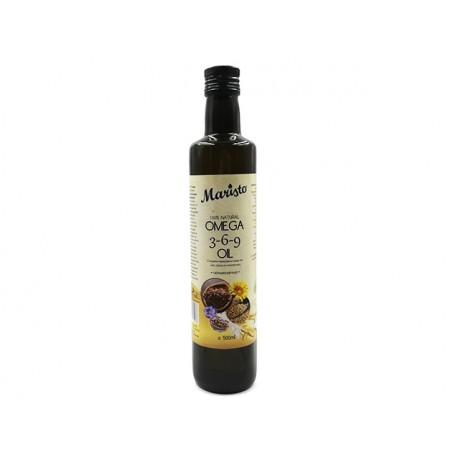Omega 3-6-9 Oil - flaxseed, sesame, sunflower, Maristo, 500 ml