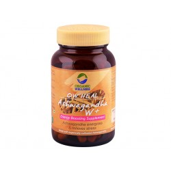 Ashwagandha W+, Organic Wellnes, 90 capsules