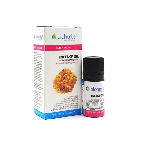 Incense (Boswellia), essential oil, Bioherba, 10 ml