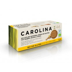 BIO Biscuit with oats, quinoa and cinnamon, Carolina, 115 g