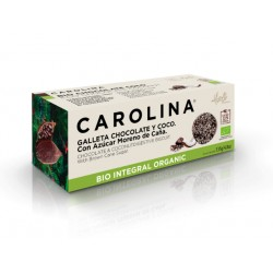 BIO Biscuit with chocolate and coconut, Carolina, 135 g