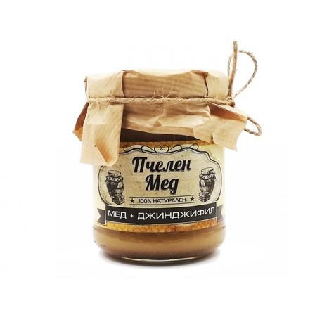 Пчелен мед с джинджифил, Амброзия, 240 гр.