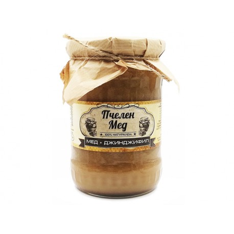 Natural honey with ginger, Ambrozia, 700 g