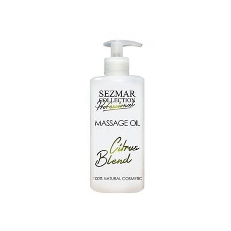 Citrus Blend Massage Oil, professional, Sezmar, 500 ml