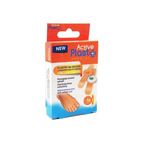 Corn-Cure plasters, ActivePlast, 6 plasters