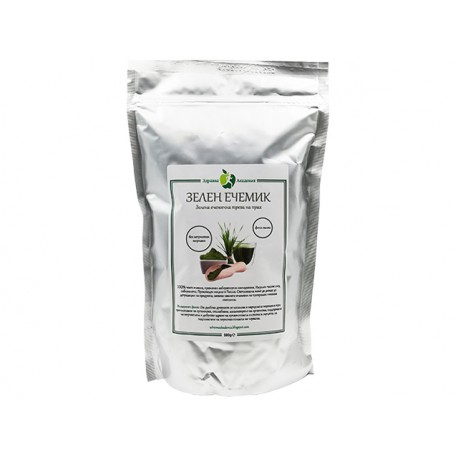 Green barley grass powder, pure, 500 g