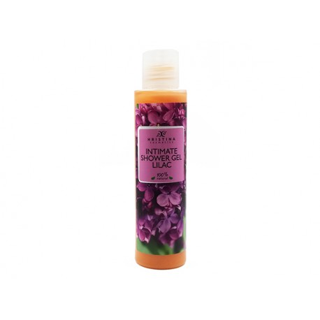 Intimate shower gel with lilac, Hristina, 125 ml