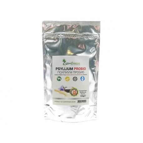 Псилиум ПроБио, псилиум, пробиотик и инулин, Здравница, 150 гр.