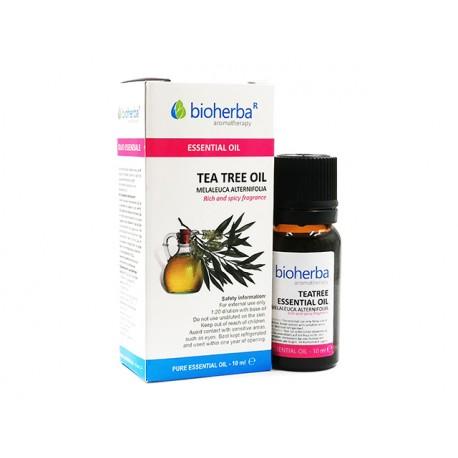 Чаено дърво, етерично масло, Биохерба, 10 мл.