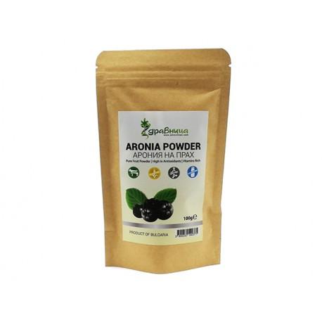 Aronia fruit powder, pure, Zdravnitza, 100 g