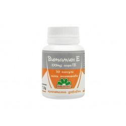 Витамин Е, 100 mg алфа-ТЕ, Никсен, 30 капсули