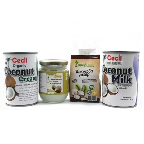 Кокос - Здравословен пакет