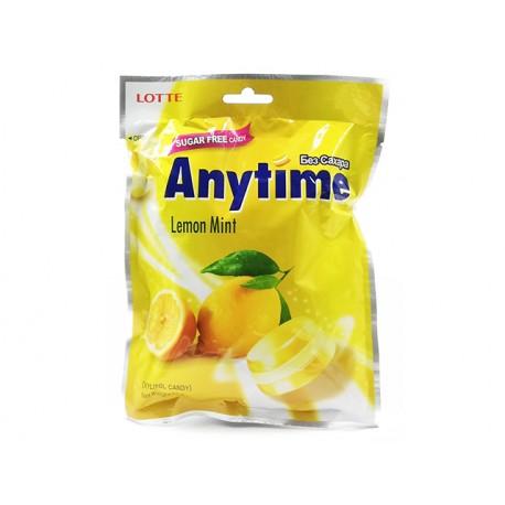 Anytime Твърди бонбони, лимон, без захар, 74 гр.