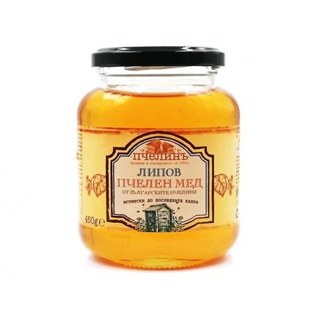 Липов пчелен мед, Пчелинь, 450 гр.