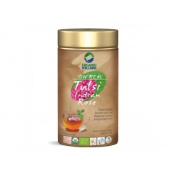 Tulsi Indian Rose, Organic Wellness, 100 g