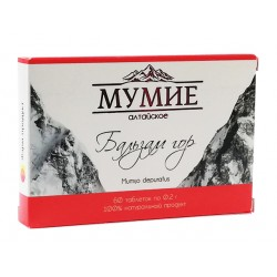 Altai refined Mumiyo, 60 tablets