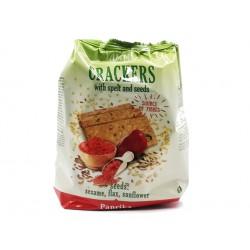 Крекери с лимец, семена и паприка, Ями Йо, 110 гр.