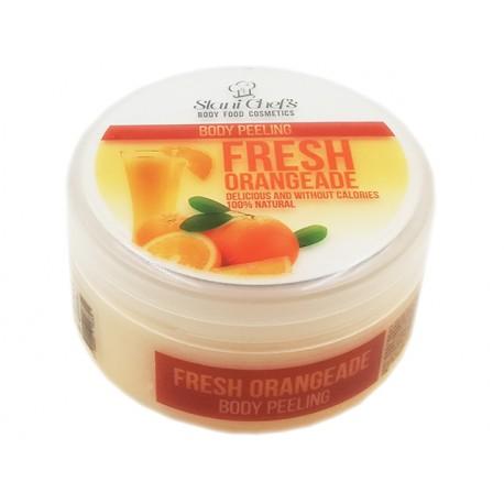 Body peeling - fresh orangeade, Stani Chef's, 250 ml