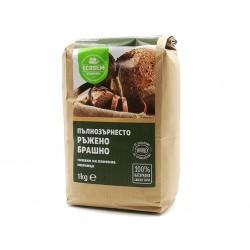 Wholemeal rye flour, Ecosem, 1 kg