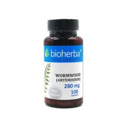 Wormwood (Artemisinin), body detox, Bioherba, 100 capsules