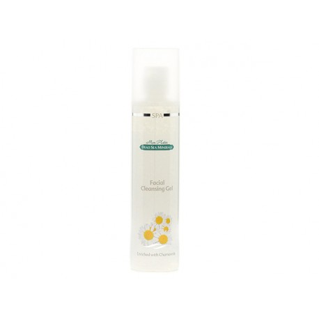 Facial creansing gel with chamomile and Dead sea minerals, DSM, 250 ml