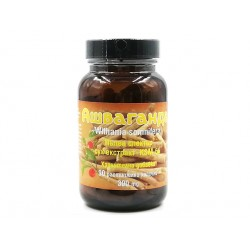 Ашваганда, стандартизиран екстракт, 90 капсули