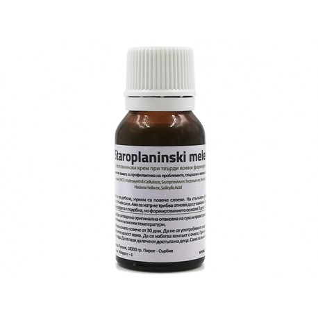 Mountain ointment for hen thorns and warts, 15 ml