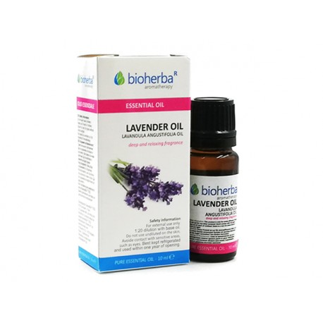 Lavender, essential oil, Bioherba, 10 ml