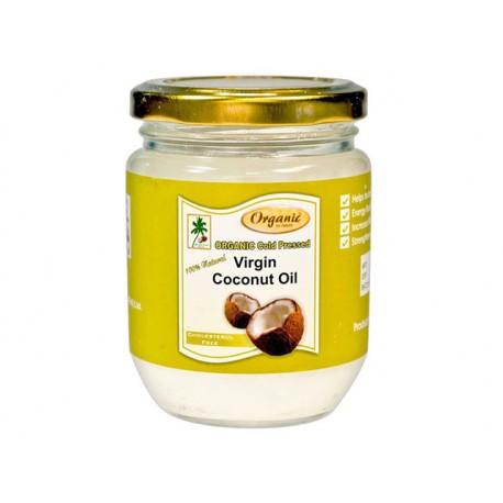 Органично кокосово масло, нерафинирано, 200 мл.