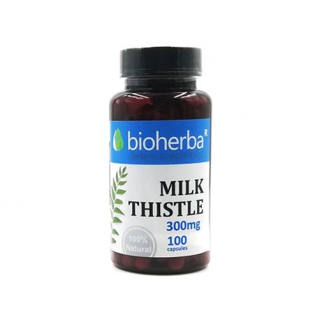 Milk Thistle, liver support, Bioherba, 100 capsules