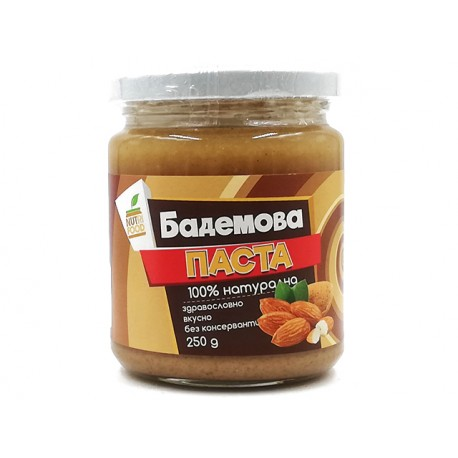 Almond paste, Nutri Food, 250 g