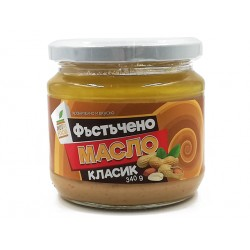 Peanut butter - classic recipe, Nutri Food, 340 g