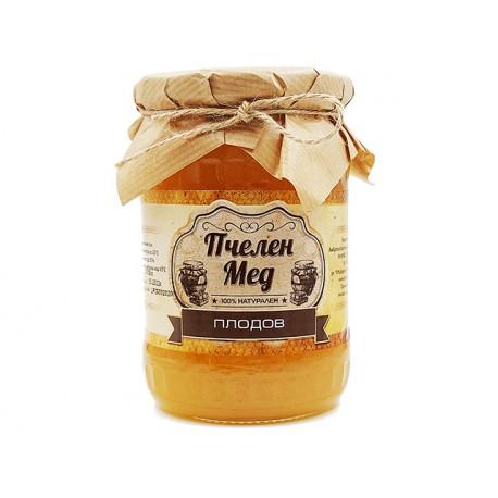 Пчелен мед - Плодов, натурален, Амброзия, 700 гр.