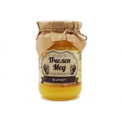 Пчелен мед - Букет, натурален, Амброзия, 450 гр.