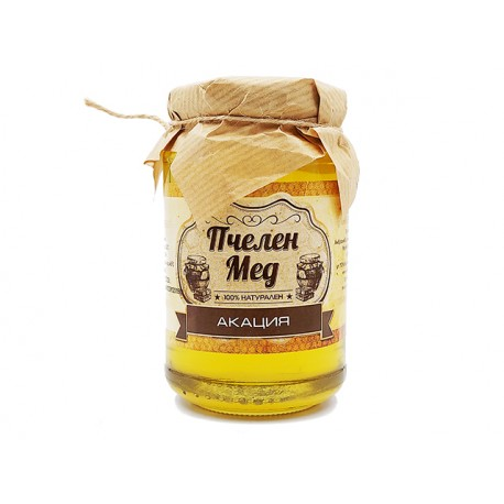 Bulgarian Honey - Acacia, natural, Ambrozia, 450 g
