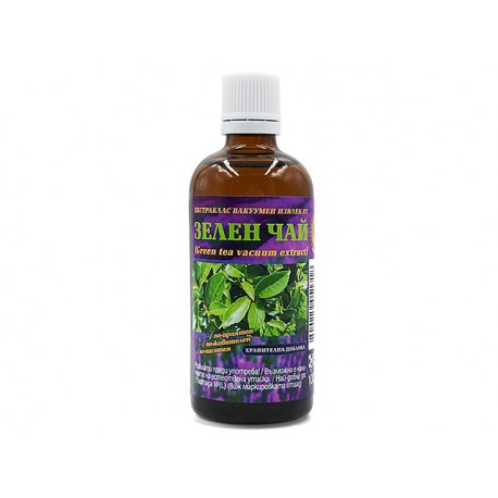 Green tea, vacuum plant extract, Bilkaria, 100 ml