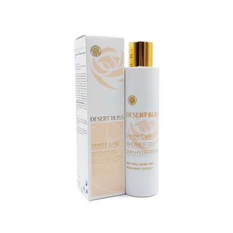 Shower gel with camel milk, Desert Bliss, 200 ml