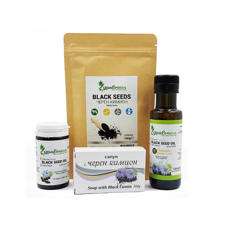 Черен кимион - Здравословен пакет