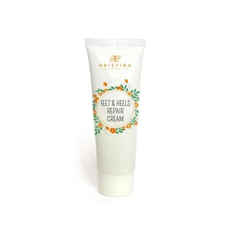 Feet and Heels repair cream, Hristina, 100 ml