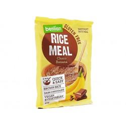 Оризова закуска с шоколад и банан, Белиан, 60 гр.