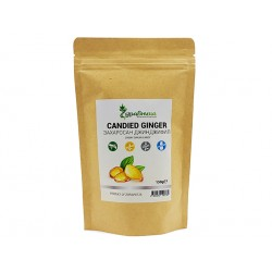 Candied Ginger, chewy candy, Zdravnitza, 150 g