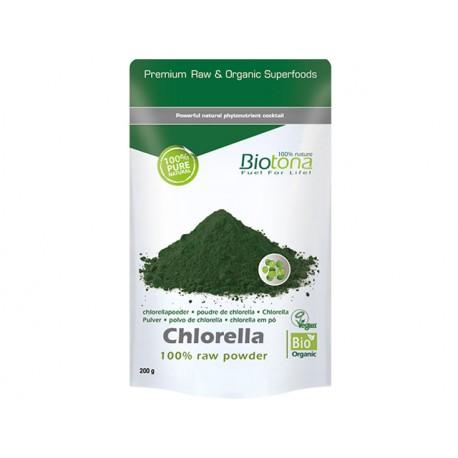 Органична хлорела на прах, Биотона, 200 гр.