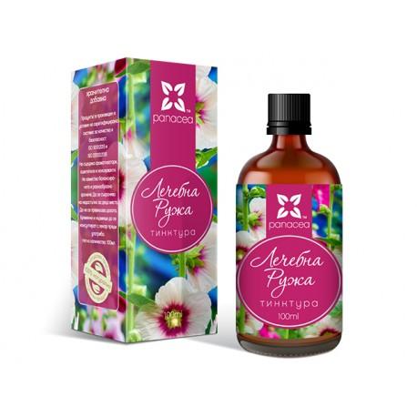 Marshmallow, herbal tincture, Panacea, 100 ml