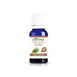 Етерично масло от Кедър, Етерина, 10 мл.