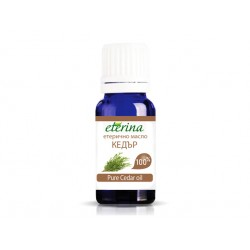 Pure Cedar essential oil, Eterina, 10 ml