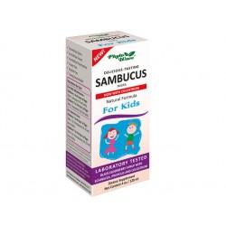 Самбукус Нигра, сироп за деца, Фито Уейв, 120 мл.