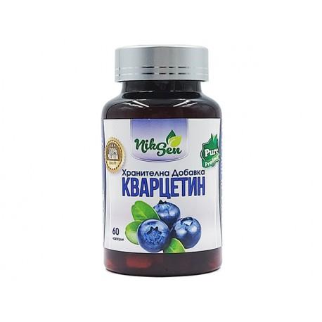 Quercetin, plant bioflavonoid, Niksen, 60 capsules
