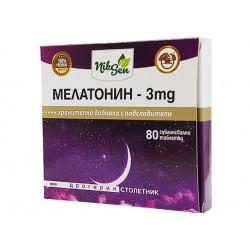 Melatonin-3 mg, sleep support, 80 tablets