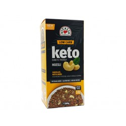 KETO granola with chocolate, nuts and seeds, Vitalia, 280 g