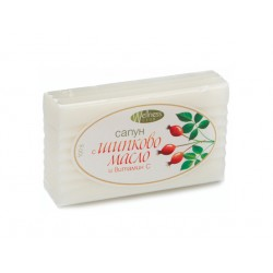 Natural soap with Rosehip oil and vitamin C, 100 g
